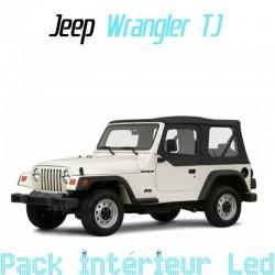 Pack intérieur led pour Jeep Wrangler 2 TJ