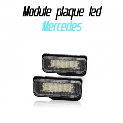 Pack modules de plaque led pour Mercedes W203 W211 W219 R171