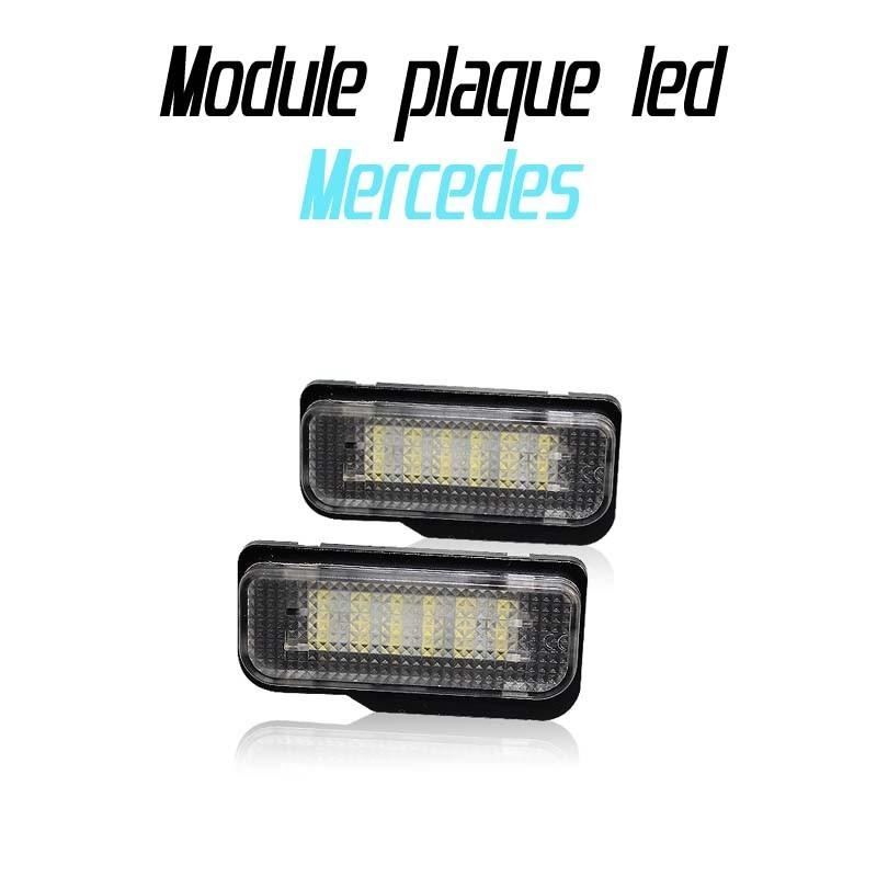 Pack Module de plaque led pour Mercedes W203 W211 W219 R171