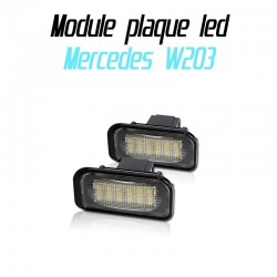 Pack modules de plaque led pour Mercedes W203