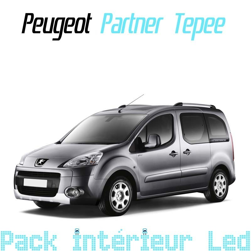 pack int rieur led pour peugeot partner 2 led auto discount. Black Bedroom Furniture Sets. Home Design Ideas