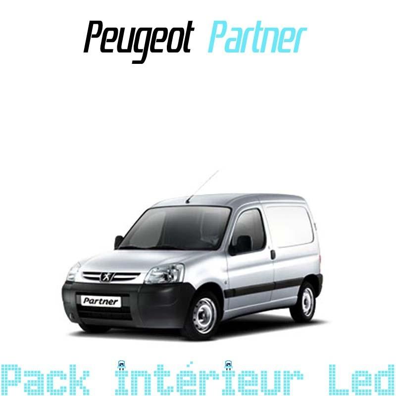 Pack intérieur led pour Peugeot Partner 1