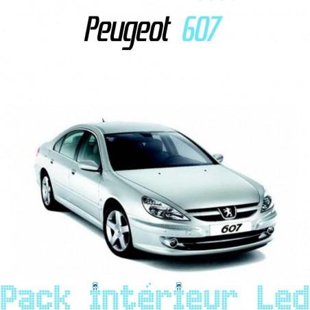 Pack intérieur led pour Peugeot 607