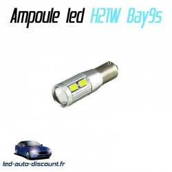 Ampoule led H21W Bay9s - (8SMD-5630-lenti)
