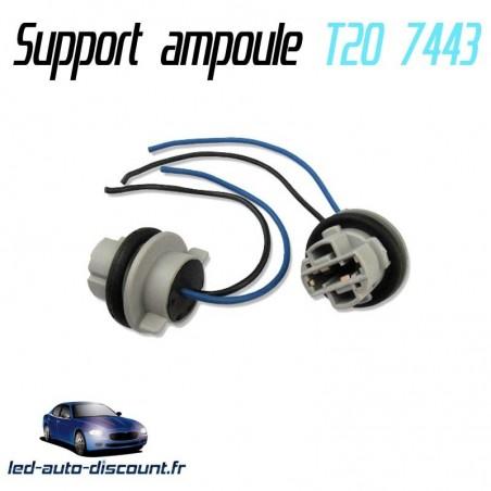 Support ampoule T20 7443 W21/5W