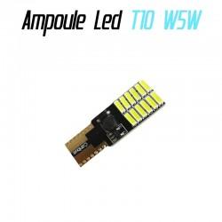 Ampoule led T10 W5W (24SMD-4014) - Anti Erreur ODB