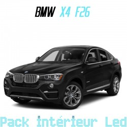 Pack intérieur led pour BMW X4 F26