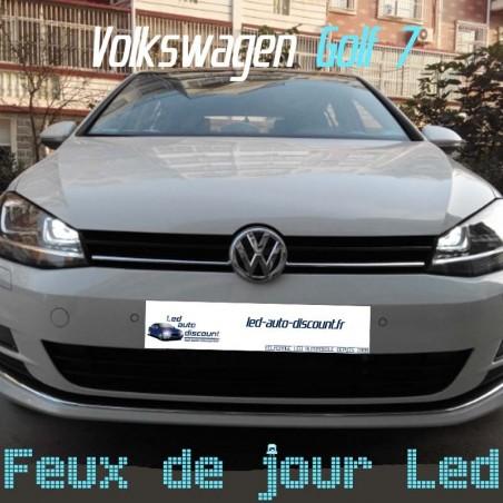 Pack feux de jour led pour Volkswagen Golf 7 avec xénon d'origine
