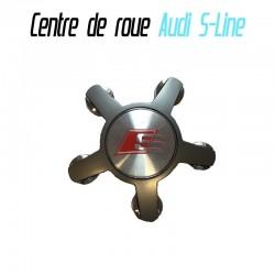Centre de roue Cache moyeux Audi S Line