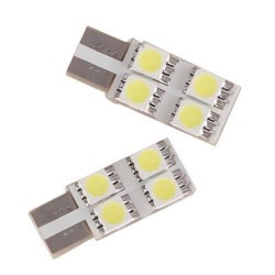 Ampoule led T10 W5W - (8SMD-2FACE)