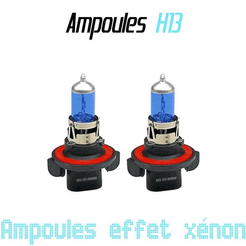 Pack de 2 ampoules H13 effet xénon 6000k