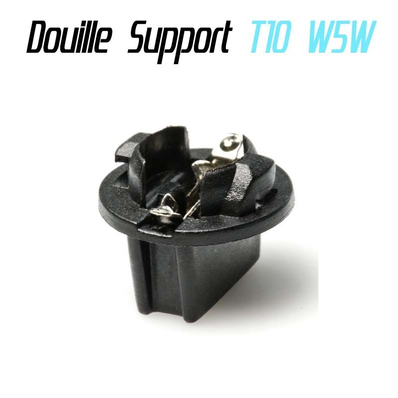 Support douille ampoule w5w T10