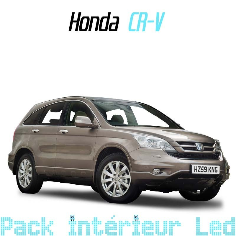 pack int rieur led pour honda cr v 3 led auto discount. Black Bedroom Furniture Sets. Home Design Ideas