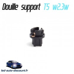 "Support douille ampoule w2.3w T5 3/8"""