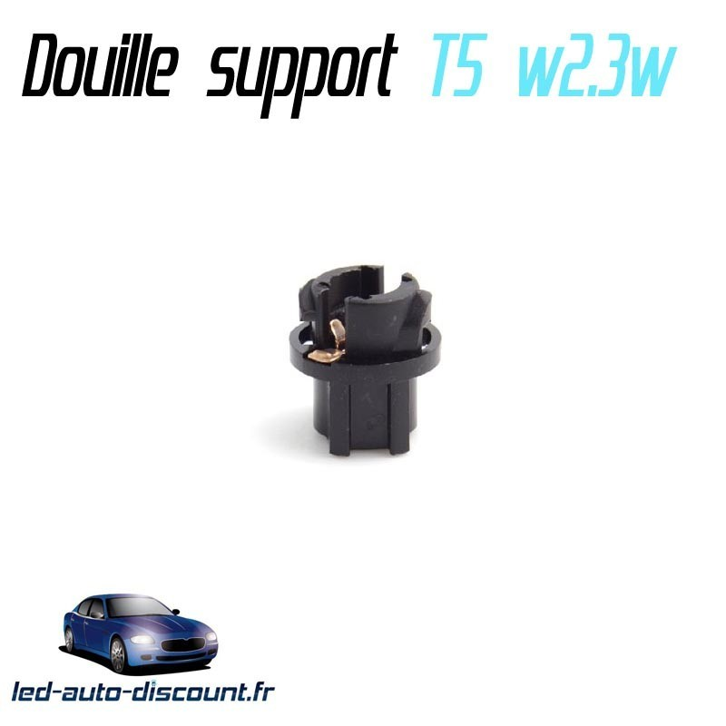 Support douille ampoule w2.3w T5 3/8""