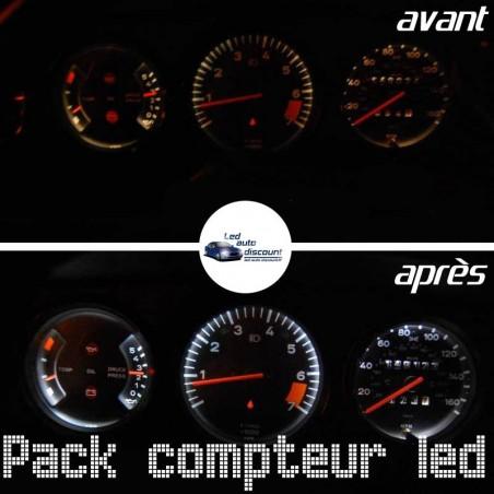 Pack de 8 ampoules led compteur Porsche Type G