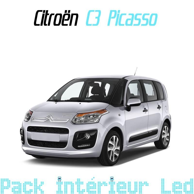 Pack intérieur led pour Citroën C3 Picasso