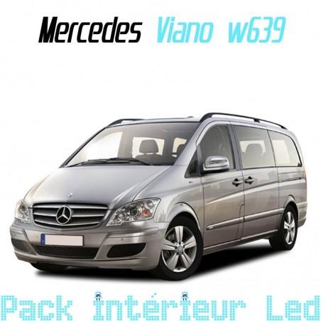 Pack intérieur led pour Mercedes Viano W639 phase 2