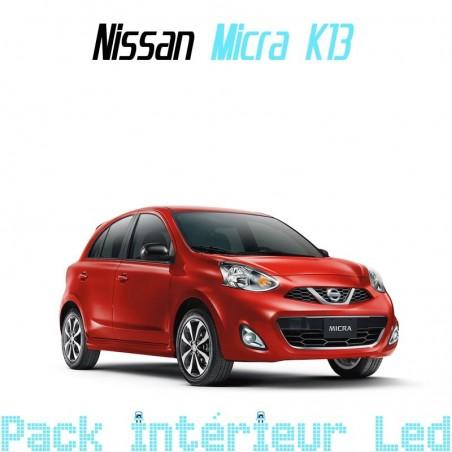 Pack intérieur led pour Nissan Micra K13