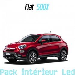 Pack intérieur led pour Fiat 500X