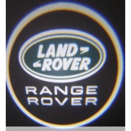 Module éclairage bas de portes logo led pour Land Rover