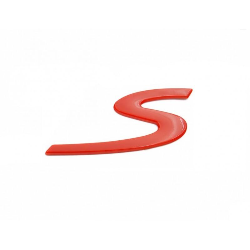 """Logo """"S"""" rouge pour Porsche"""