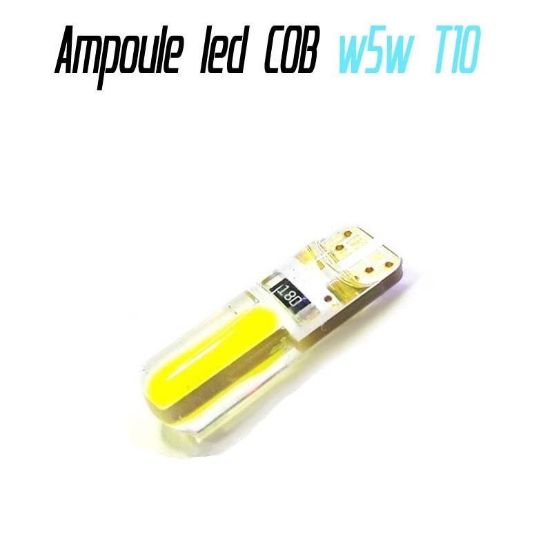 Ampoule led T10 W5W (COB)