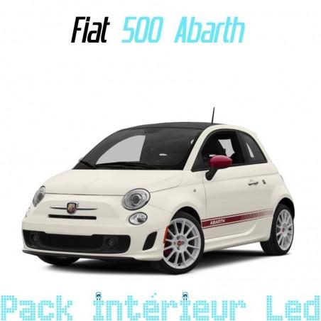 Pack intérieur led pour Fiat 500 Abarth