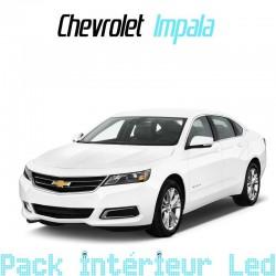 Pack intérieur led pour Chevrolet Impala 10
