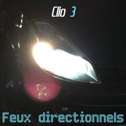Pack feux directionnels effet xénon pour Renault Clio 3