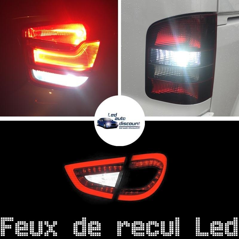 Pack feux de recul led pour Peugeot 407