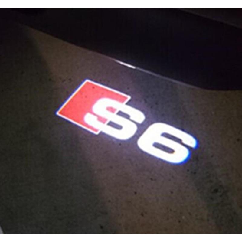 Module éclairage bas de portes LOGO LED pour Audi A6 S6 C6