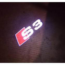 Module éclairage bas de portes logo led S3 pour Audi A3 8P