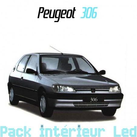 Pack intérieur led pour Peugeot 306