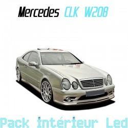 Pack intérieur led pour Mercedes CLK W208