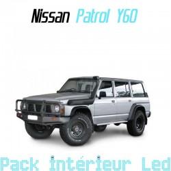 Pack intérieur led pour Nissan Patrol Y60