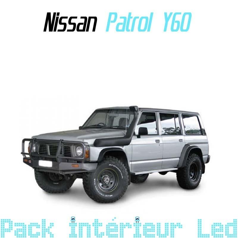 Pack Full Led Intérieur Extérieur Nissan Patrol Y60