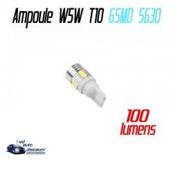 Ampoule led T10 W5W - (6SMD-5630-lenti)