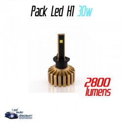 Pack antibrouillards led ventilés H1 30w 3S