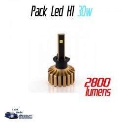 Pack antibrouillards led ventilés H1 30w 3S
