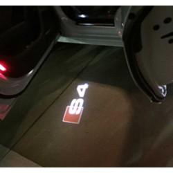 Module éclairage bas de portes logo led S4 pour Audi A4 B7 B8
