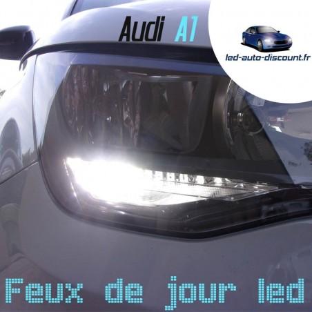 Pack feux de jour led pour Audi A1sans feux xénon d'origine