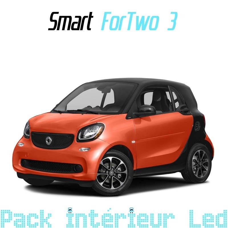 Pack full Led intérieur extérieur Smart Fortwo 3