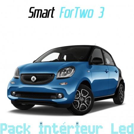 Pack intérieur led pour Smart ForFour II