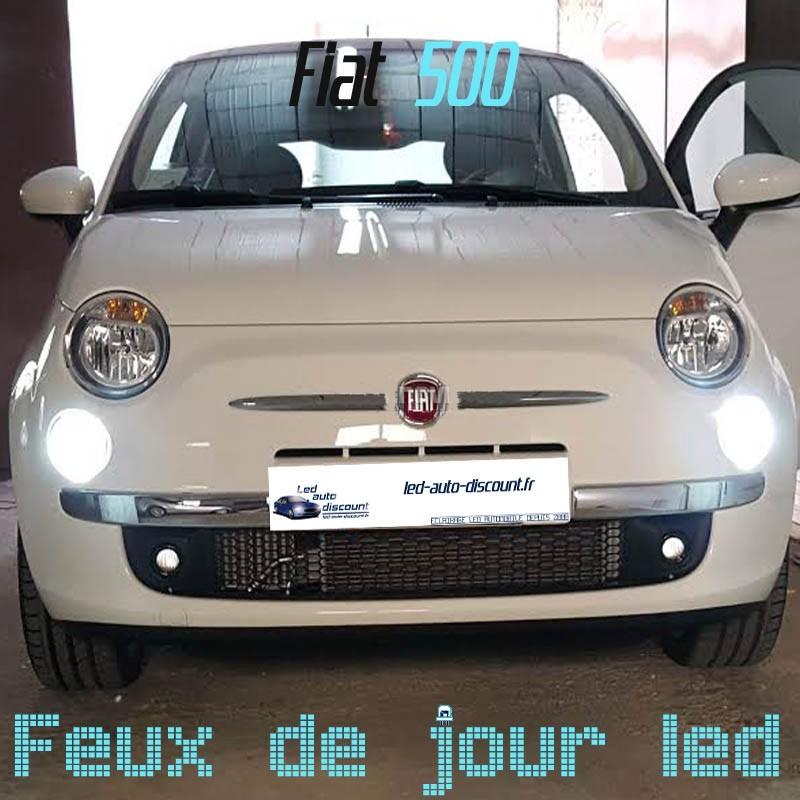 Pack Feux de jour led pour Fiat 500
