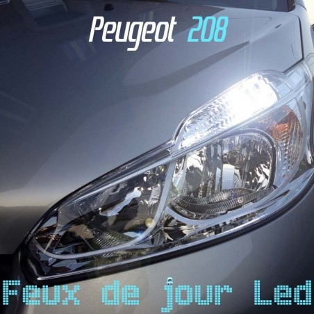 Pack feux de jour led pour Peugeot 208