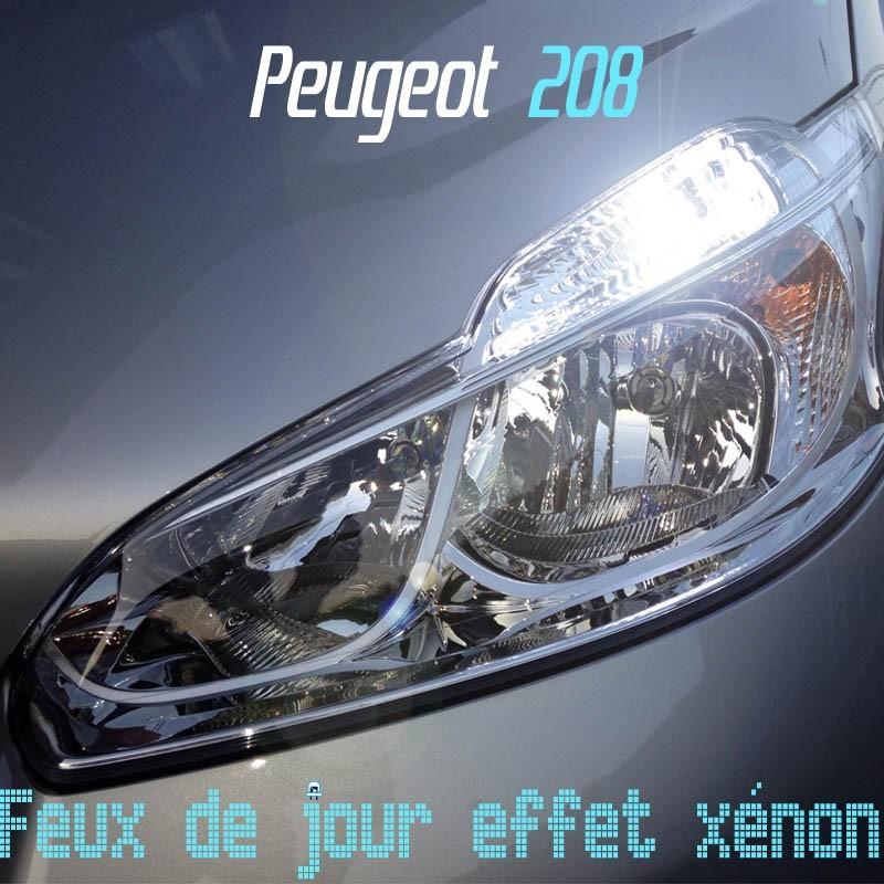 Pack Feux de jour pour Peugeot 208