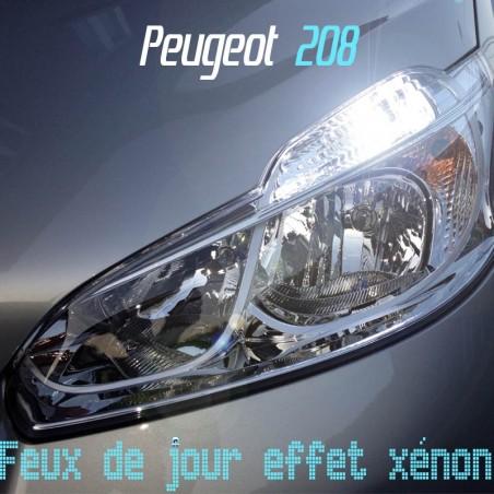 Pack Feux de jour effet xénon pour Peugeot 208