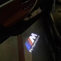 Module éclairage bas de portes logo led ///M Performance pour BMW