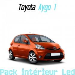 Pack intérieur led pour Toyota Aygo 1